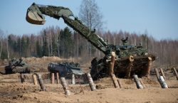 Estonian combat engineers conducted field demo exercise