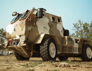DefExpo 2018: Ashok Leyland showcases new Light Specialist Vehicle 4×4