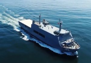 Peruvian new amphibious assault ship begins initial sea trials