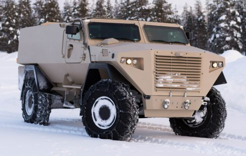 Sisu Auto developed new GTP 4×4 armoured troops carrier vehicle