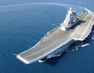 Ukraine offers maintenance for Indian aircraft carrier