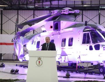 Royal NAVY receives first Commando Merlin Mk4 helicopter