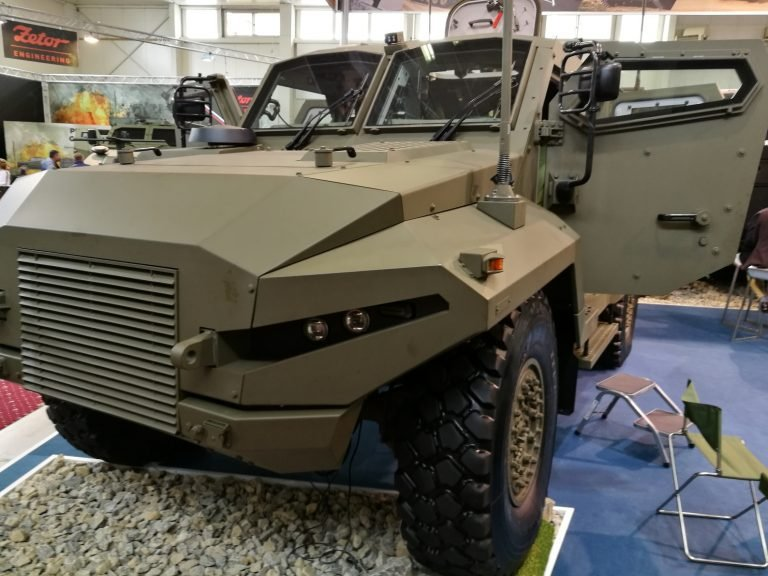 IDEB 2018: MSM Group showcased KBV-12 Patriot tactical military vehicle