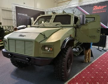 IDEB 2018: Zetor Engineering unveiled new Gerlach 4×4 armoured tactical vehicle