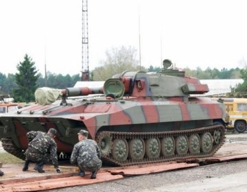 Ukraine to receive 122 mm 2S1 self-propelled howitzers from Poland