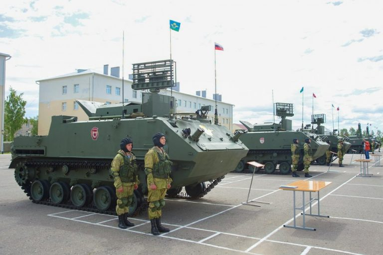 Russian Airborne Troops received modern Barnaul-T air defence control systems