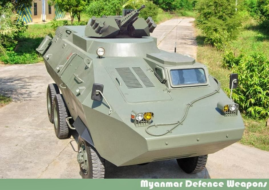 9308f2145d52 First ULARV-3 of Myanmar Army Will Begin Serial Production in 2015 ...