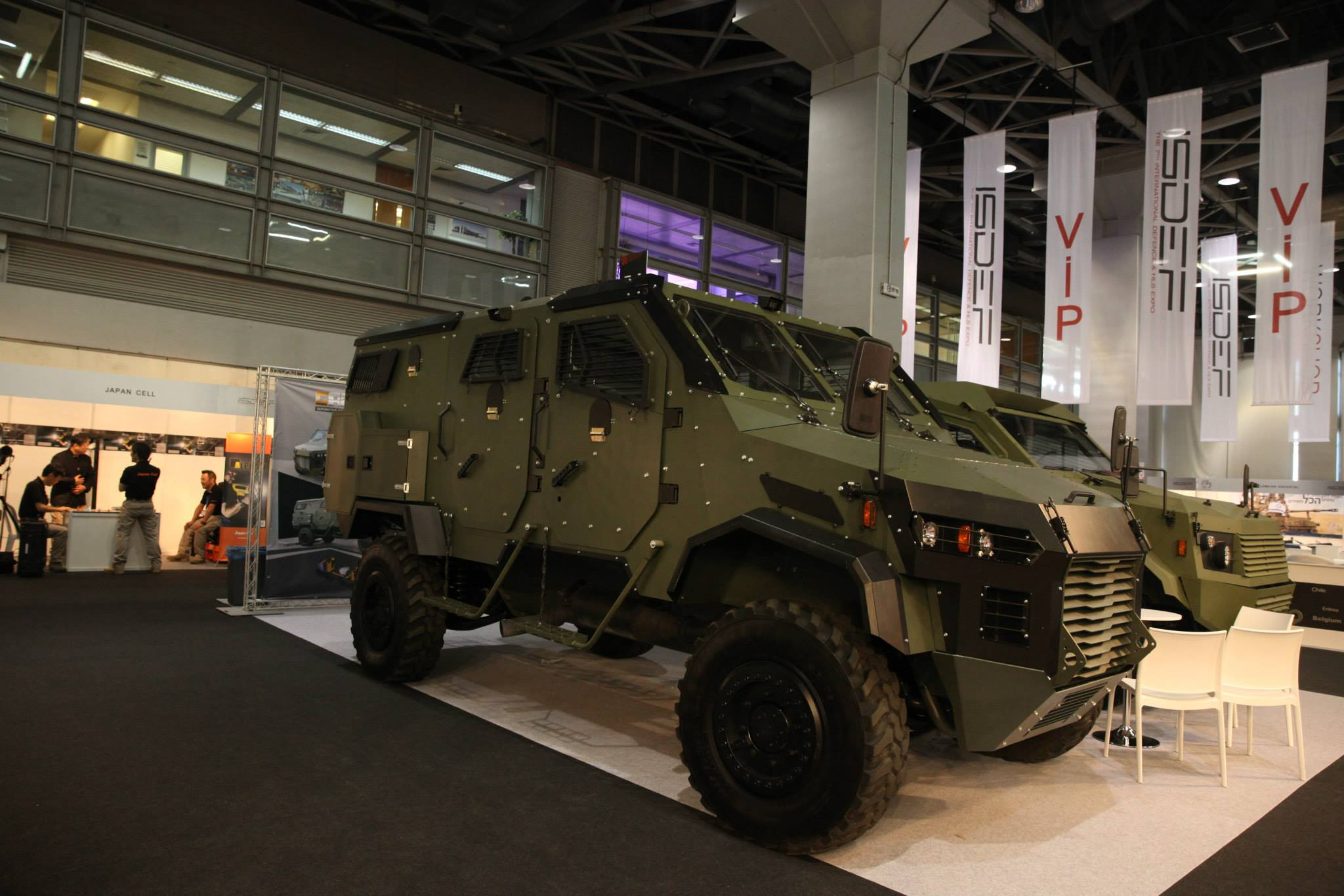 PHOTO : ISDEF 2015 is the Premier International Defence and HLS