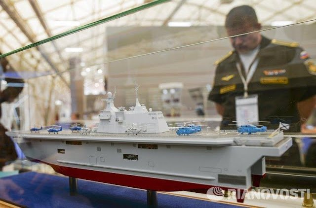 Russian helicopter carrier in response to the failed Mistral deal 2