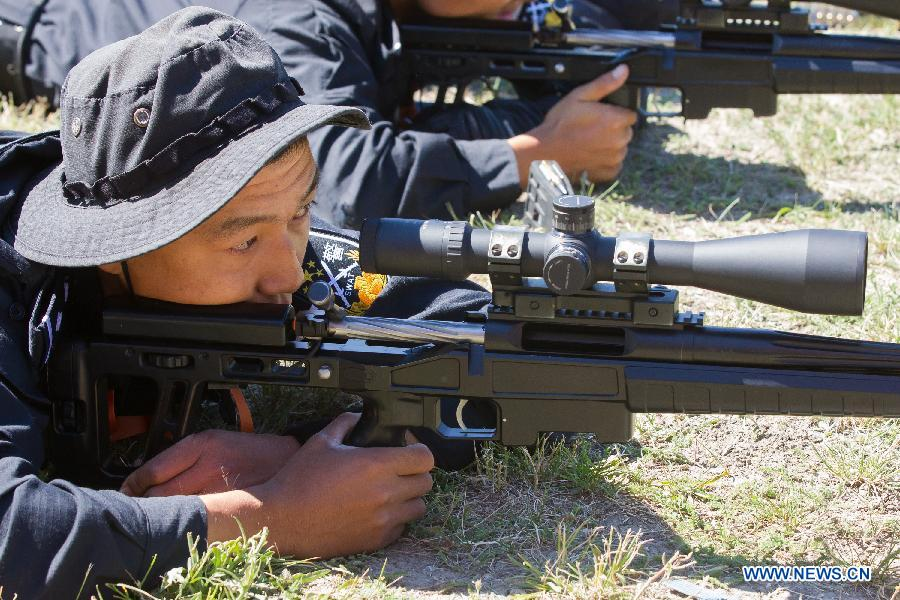 Chinese snipers adopted a new Russian rifle ORSIS T-5000