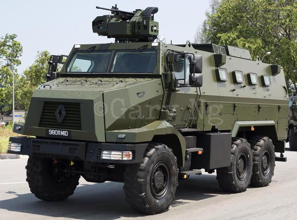 Singapore Has Shown Its Renault Higuard Protected Response