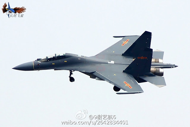 Chinese J-16 fighter jet might soon be in service ...