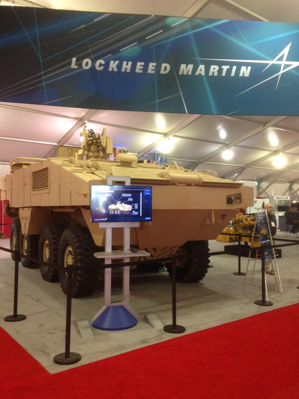 Lockheed Martin Amphibious Combat Vehicle
