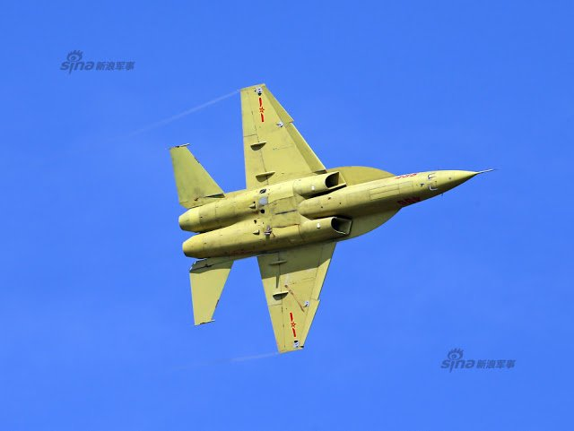 New trainer unveiled at PLAAF public day in Changchun, Jiling 11