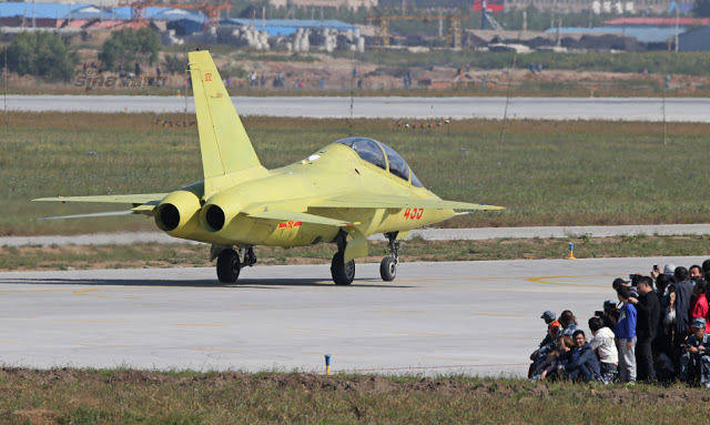 New trainer unveiled at PLAAF public day in Changchun, Jiling 4