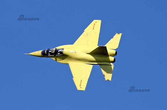 New trainer unveiled at PLAAF public day in Changchun, Jiling 5