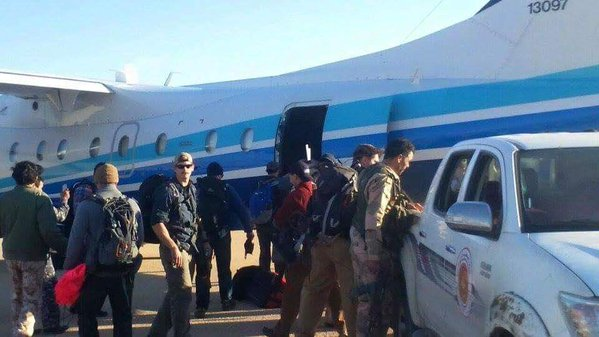 Obama's boots on the ground in Libya 1