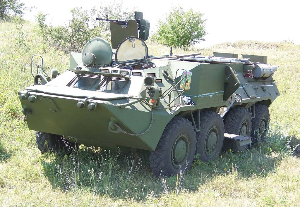 BTR-3M1 - 81mm mortar launcher