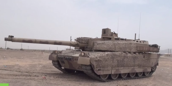 AMX Leсlerc of UAE army in Yemen