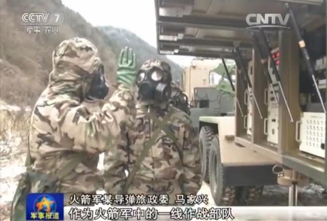 Chinese PLA Missile division DF31A drills 10