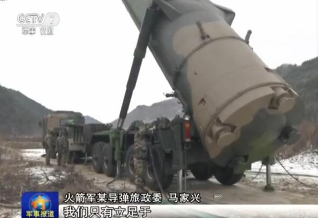 Chinese PLA Missile division DF31A drills 6