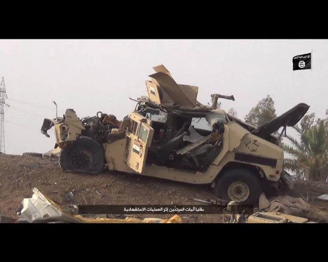 Islamic State counter attack in Ramadi 10