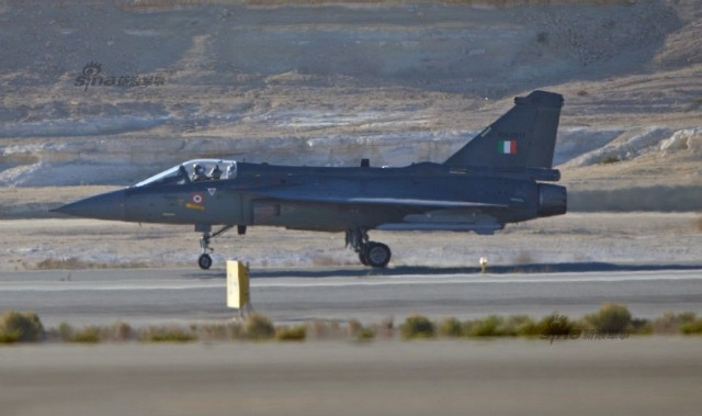 LCA practice sortie at Bahrain Air Show 2