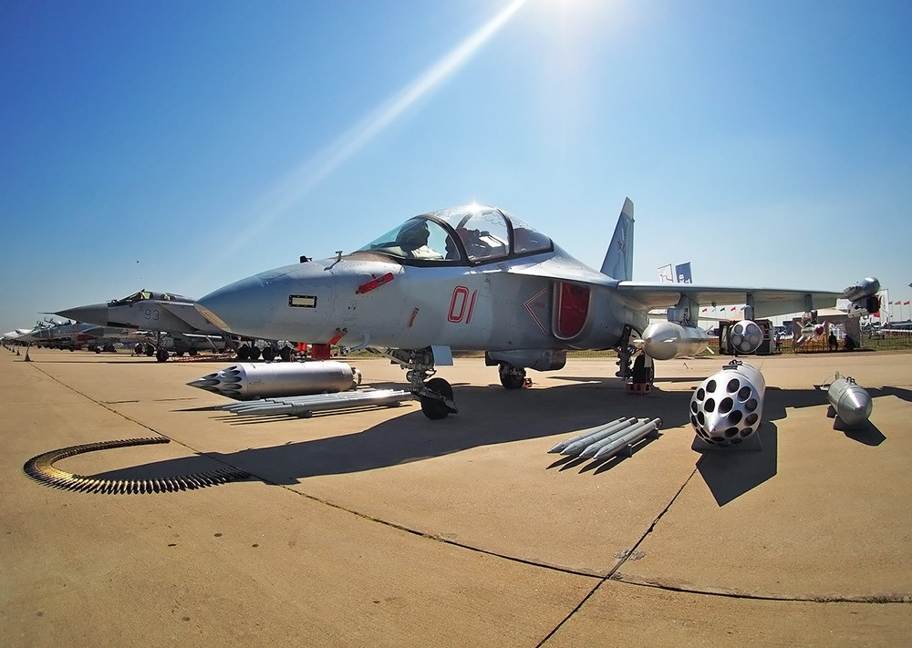 Lao Air Force receives first Yak 130 advanced jet trainer
