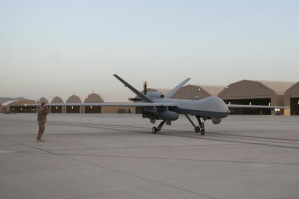 Usa Drone Mq 9 Crashes At Kandahar Airfield In Afghanistan