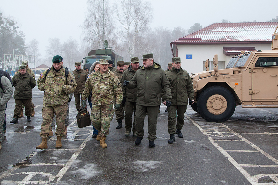 239cd3c97fe Training centers of the National Guard of Ukraine hosts California National  Guard delegation