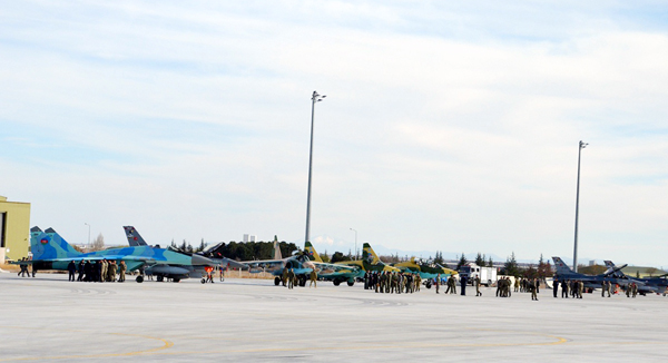 Azerbaijan Air Force deploys MiG-29s, Su-25s to Turkey for exercise 8