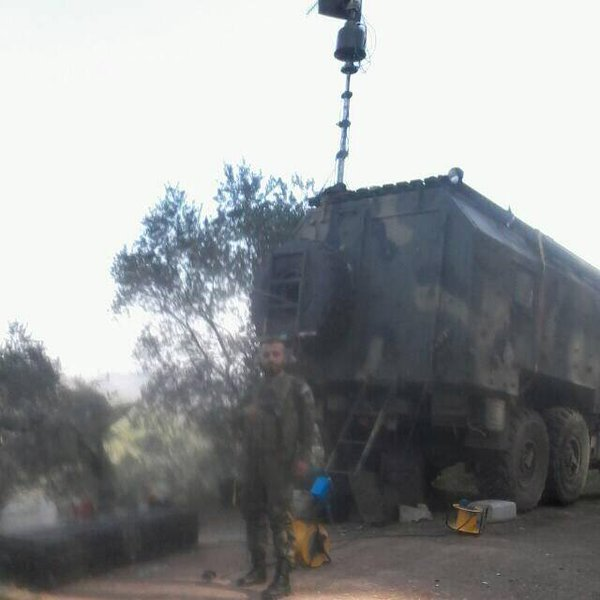 In Syria Spotted New Russian Rb 341v 171 Leer 3 187 Electronic