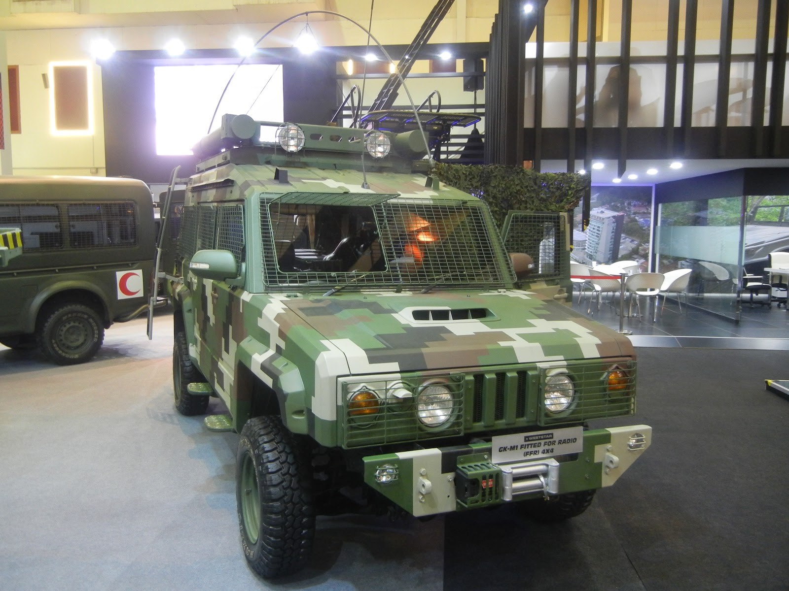 GK-M1 Rapid Rover 4x4 vehicle (c) miltechmag.com