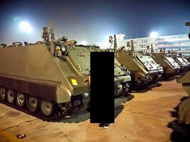 e81eeae3b7 Belgium delivered 50 tracked armored personnel carrier M113 to Indonesia