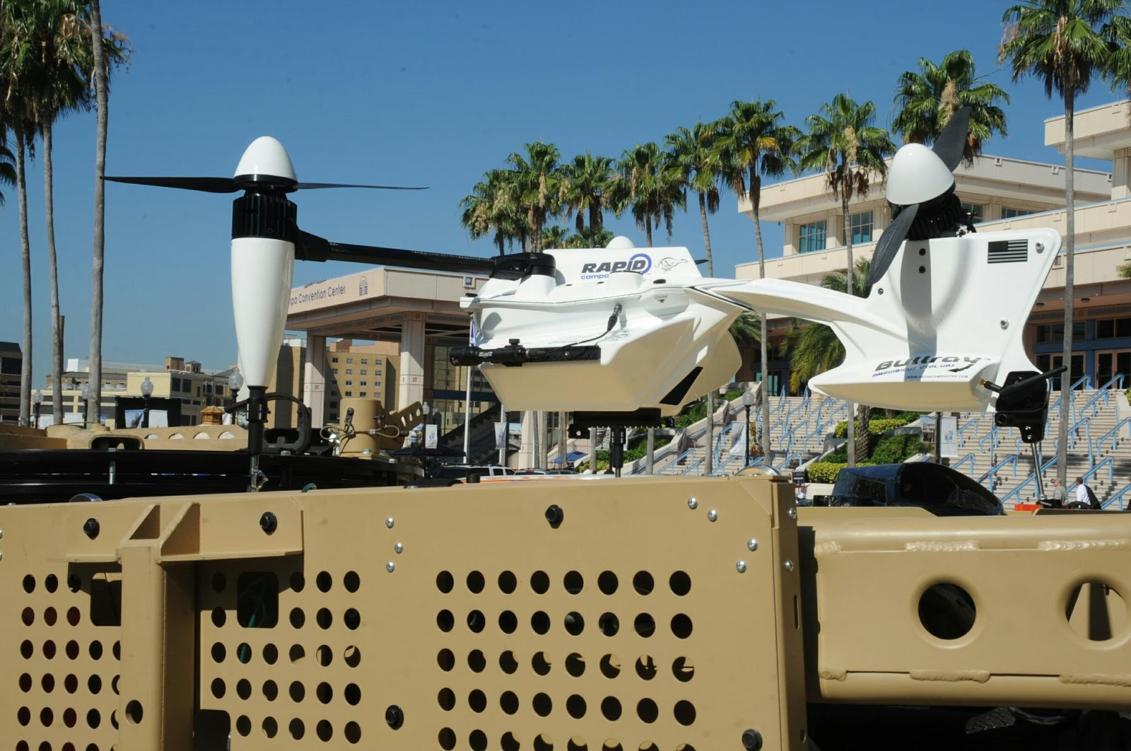 BULLRAY amphibious VTOL UAS from Rapid Composites (c) miltechmag.com
