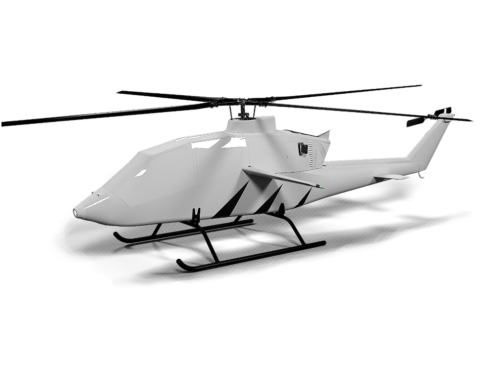 unmanned autonomous helicopter based on VV-2