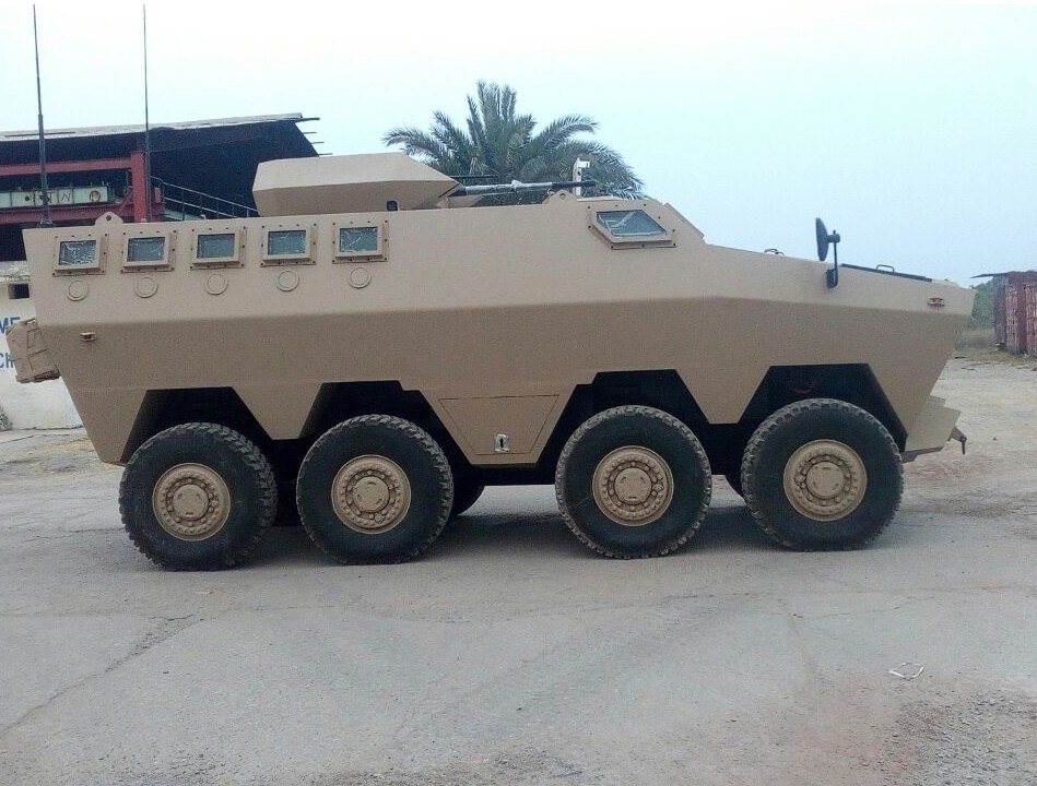 HAMZA multi-role combat vehicle