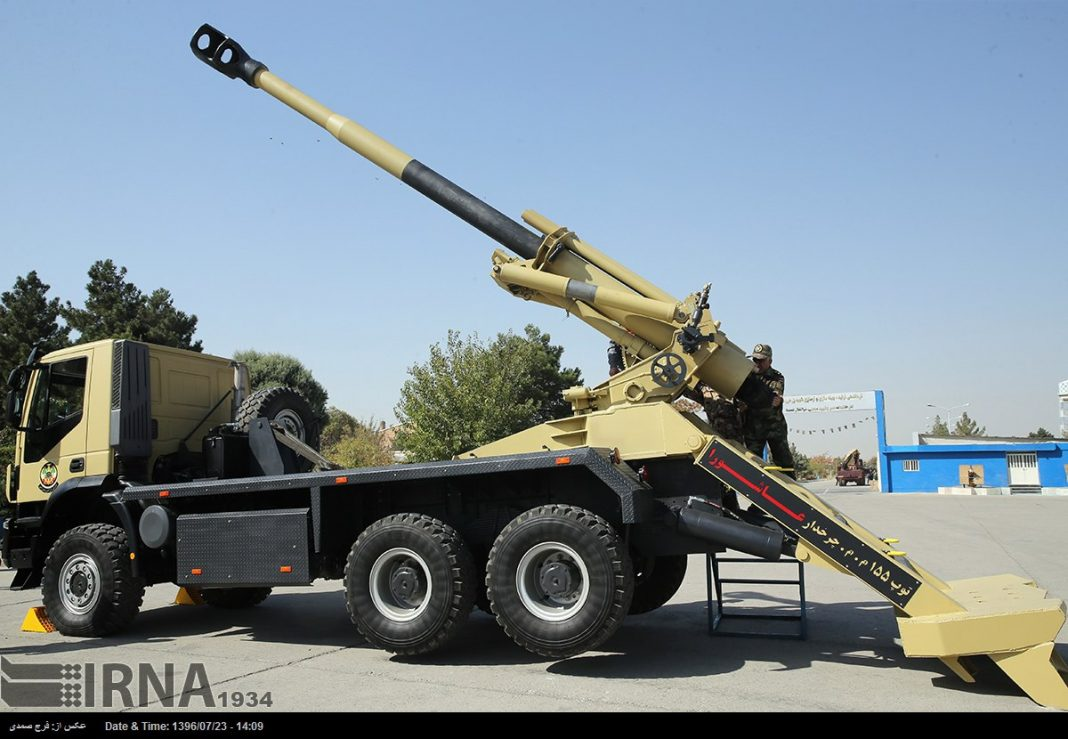 Ashura 155mm self-propelled gun