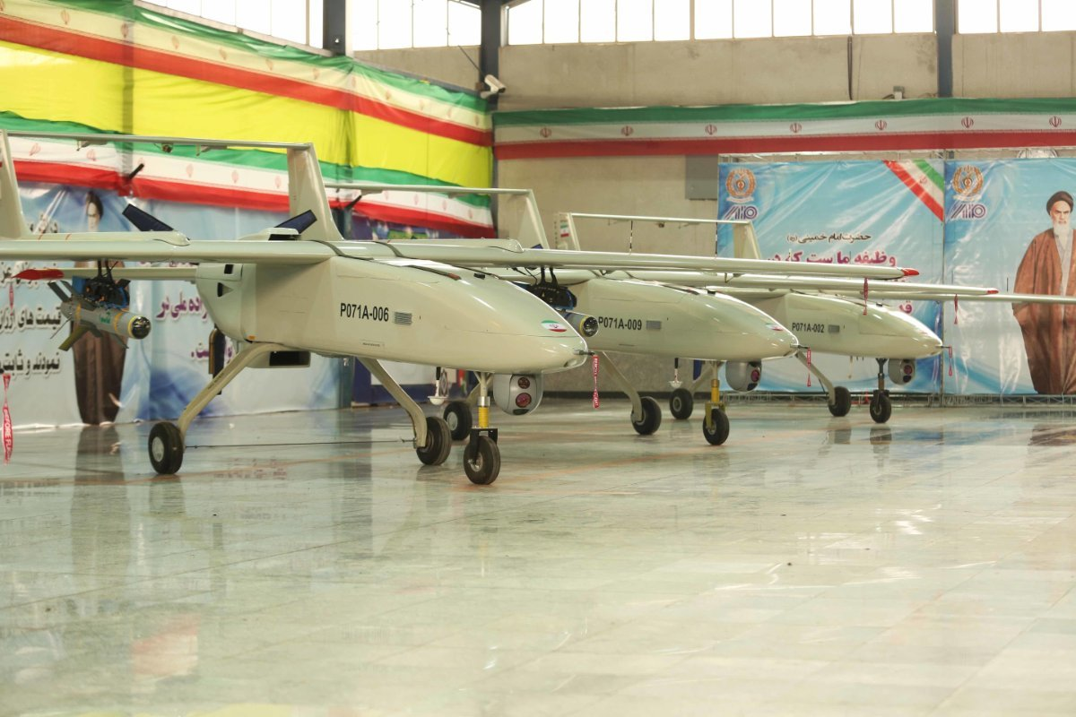 Photos: New Iranian Mohajer-6 unmanned combat aerial vehicles