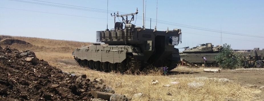 New command vehicle based on the Merkava platform spotted in Israel