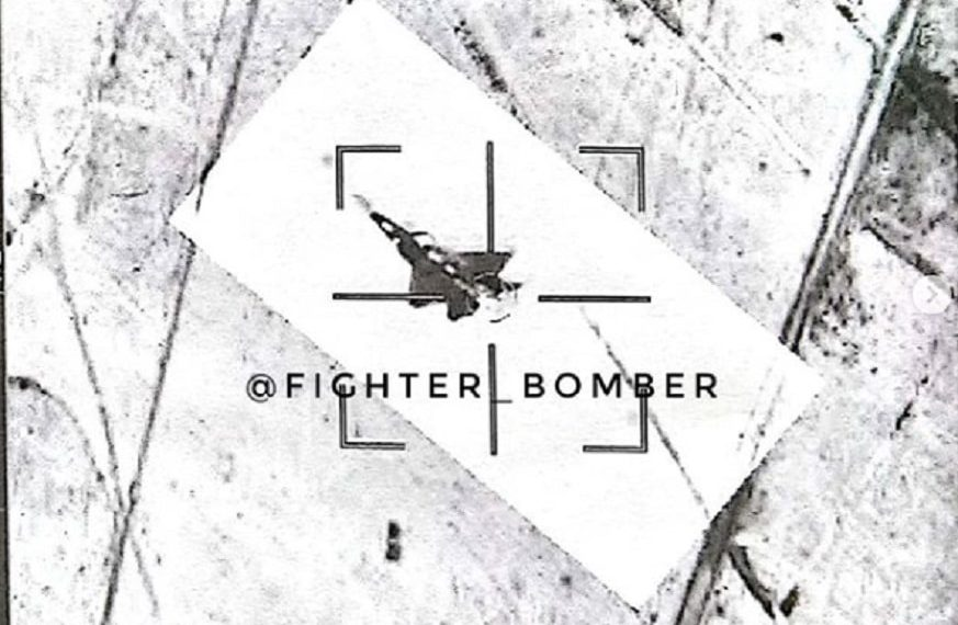 Russian fighter jets intercept U.S. F-22 Raptor flying over Syria