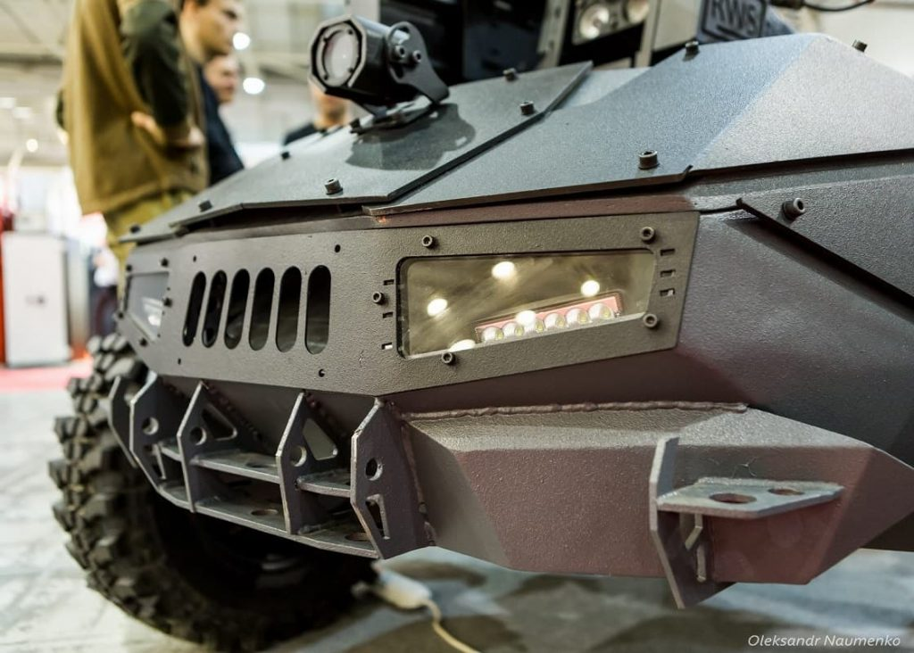 Global Dynamics unveiled modern unmanned ground vehicle with Shablya RWS