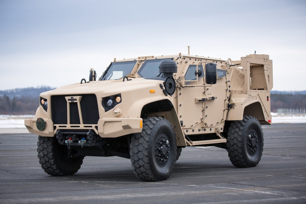 Oshkosh Defense Jltv >> U S Army Orders Over Six Thousand Newest Jltv Vehicles