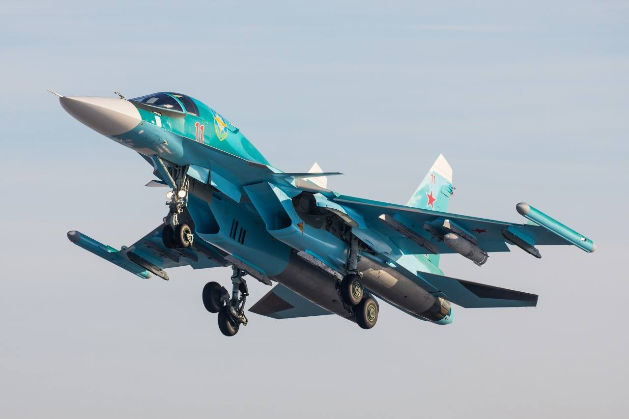 All Su-34 flights suspended in Russian Federation following accident in Far East