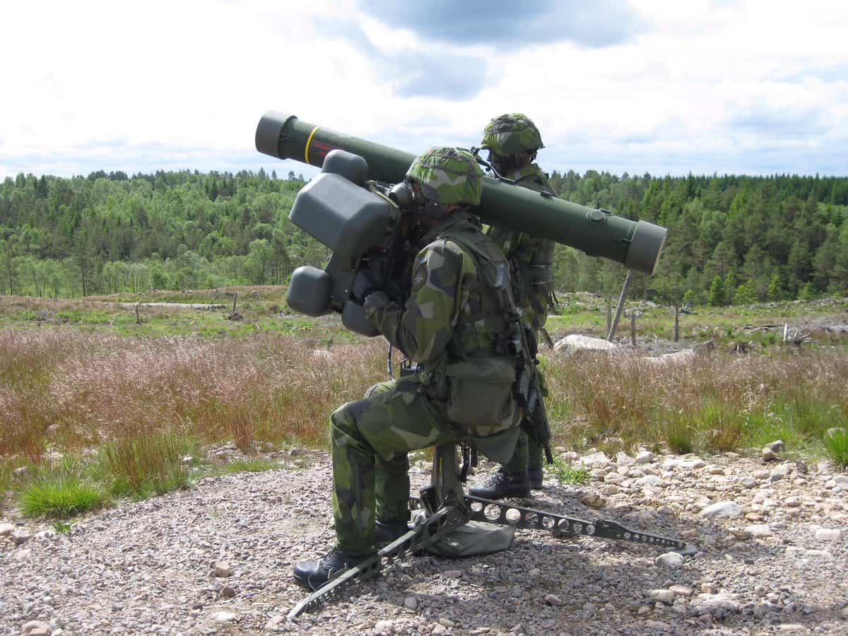 Saab Announced On 14 January That It Has Signed A Contract With The Brazilian Army For Deliveries Of Latest Generation Rbs 70 Man Portable