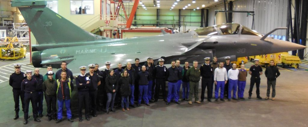 French Navy received its first Rafale F3-R