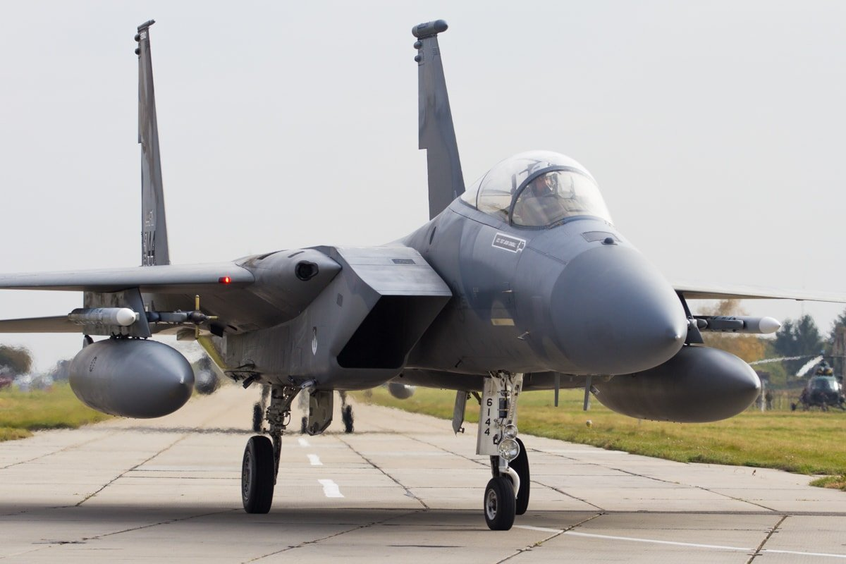 U S  Air Force plans to buy eight new F-15EX fighter aircraft in