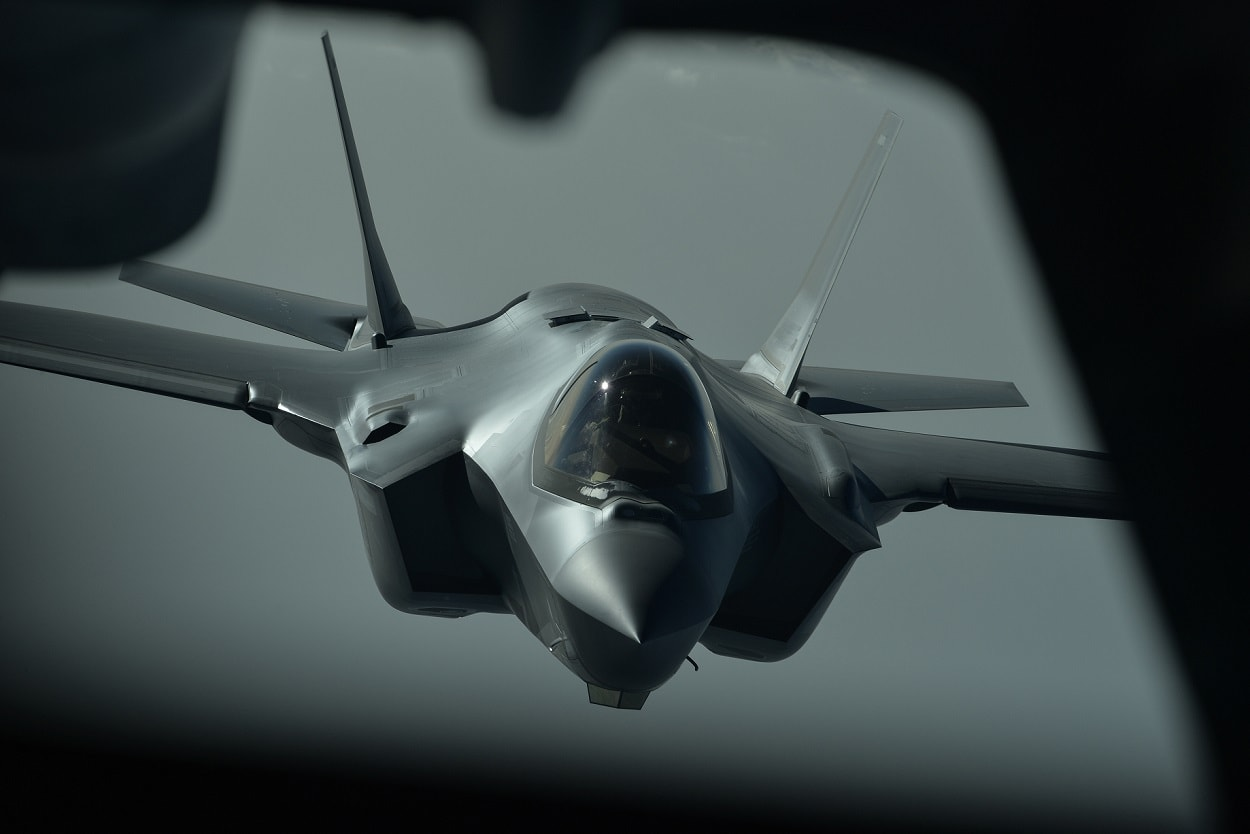 US Air Force conducts first-ever airstrikes with F-35A