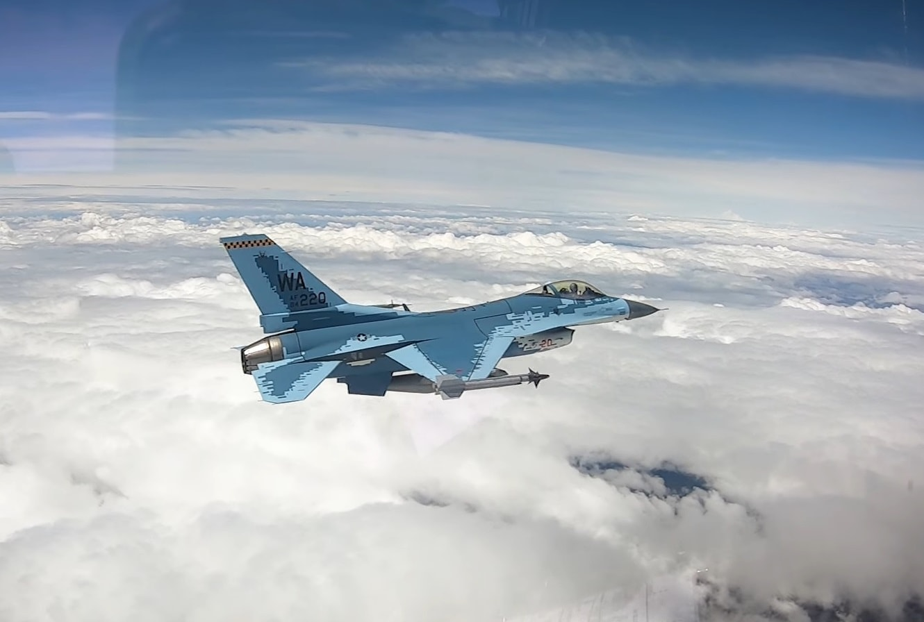 VIDEO: Maiden Sortie For 'Russian-style' F-16C Fighter Jet