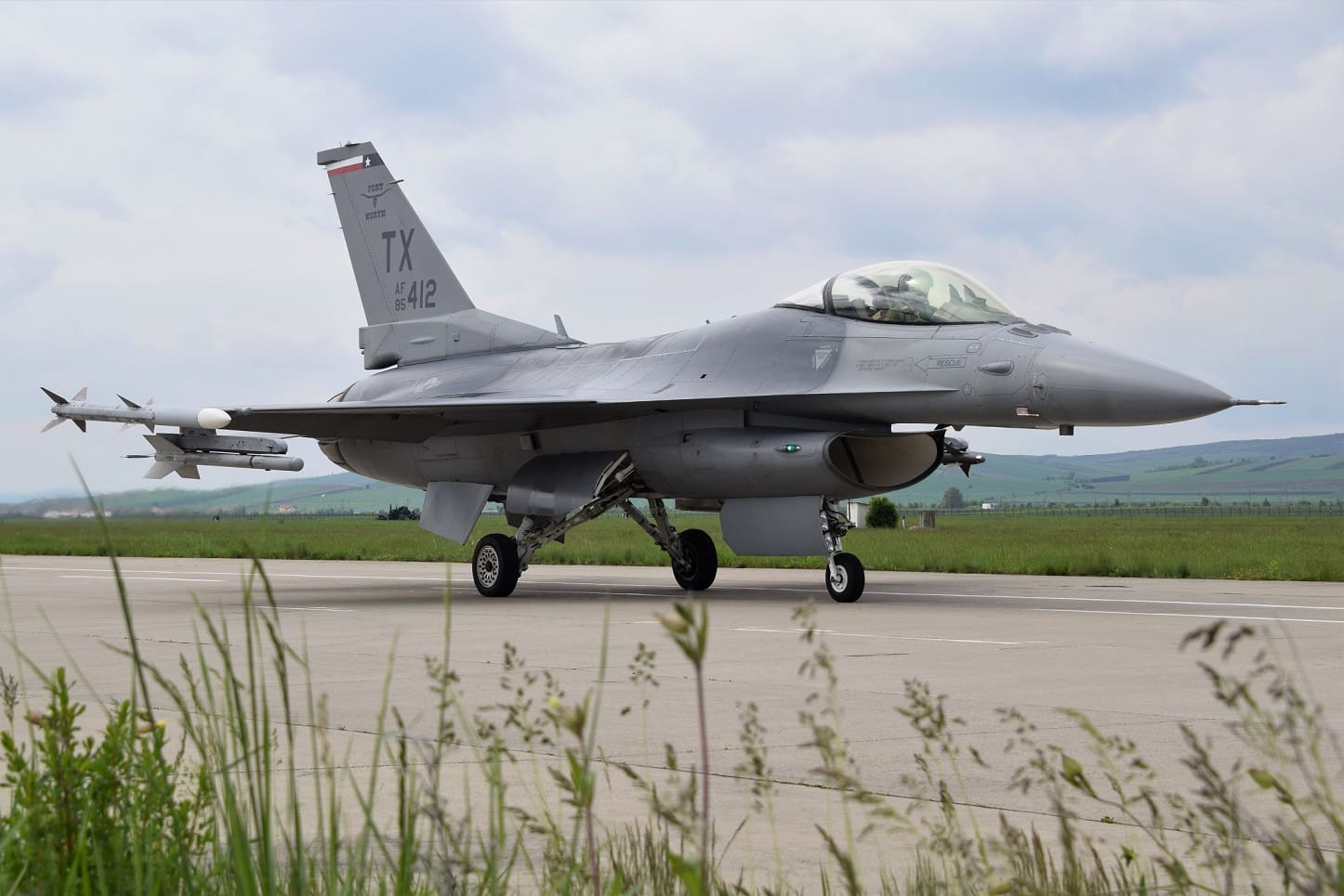 U S  F-16 Fighting Falcons to take part in joint exercises